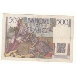 500 FRANCS CHATEAUBRIAND 13 Mai 1948 TTB-