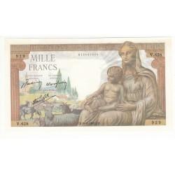 1000 FRANCS DEESSE DEMETER 20 Juin 1942 NEUF Fay: 40-3