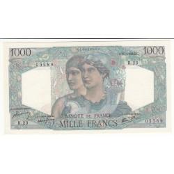 1000 FRANCS MINERVE ET HERCULE 31 Mai 1945 NEUF