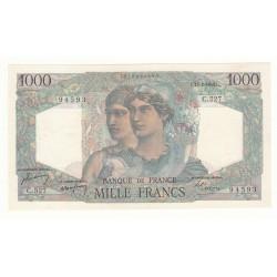 1000 FRANCS MINERVE ET HERCULE 17 Février 1949 SPL