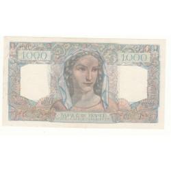 1000 FRANCS MINERVE ET HERCULE 22-11-1945 SPL