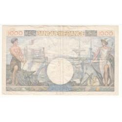1000 FRANCS COMMERCE ET INDUSTRIE 6-02-1941