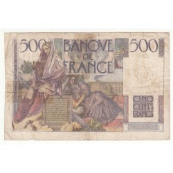 500 FRANCS CHATEAUBRIAND 7-11-1945