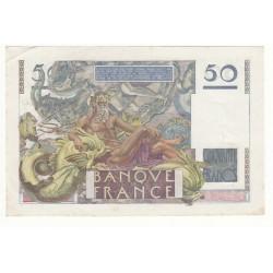 50 FRANCS LE VERRIER 24-08-1950 TTB+  Fay 20.16