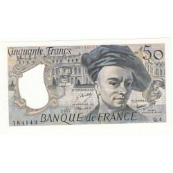 50 FRANCS QUENTIN DE LA TOUR 1977 NEUF