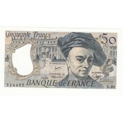 50 FRANCS QUENTIN DE LA TOUR 1980 NEUF