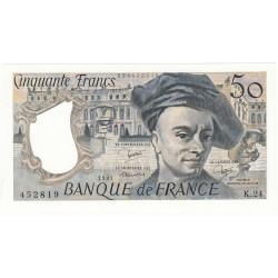 50 FRANCS QUENTIN DE LA TOUR 1981 NEUF