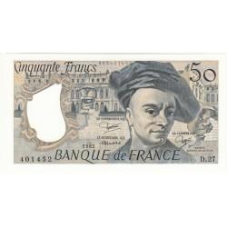 50 FRANCS QUENTIN DE LA TOUR 1982 NEUF