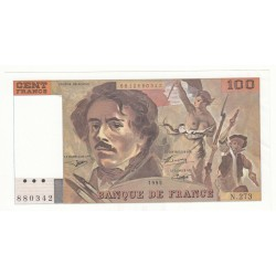 100 FRANCS DELACROIX 1995 SPL