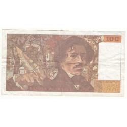 100 FRANCS DELACROIX  1993  G.219 avec accent  RARE
