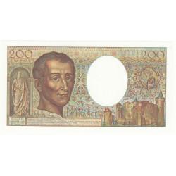 200 FRANCS MONTESQUIEU NEUF 1981