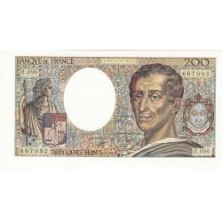 200 FRANCS MONTESQUIEU P/NEUF 1990