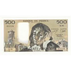 500 FRANCS PASCAL 7-06-1979 NEUF Fay 71-19