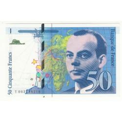50 FRANCS SAINT-EXUPERY 1992 NEUF