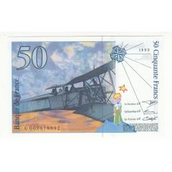 50 FRANCS SAINT-EXUPERY 1993 NEUF