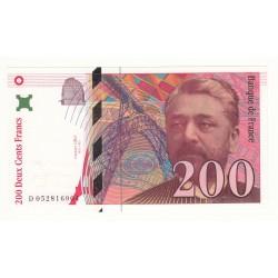 200 FRANCS EIFFEL 1997 NEUF