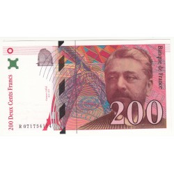 200 FRANCS EIFFEL 1999 NEUF