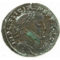Romaine - Follis Licinius I , Jupiter +312-313
