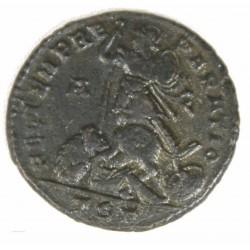 Romaine - CONSTANCE II Maiorina, THESSALONIQUE +350 RIC 129