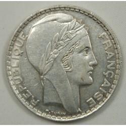 20 Francs 1937 Turin Argent Silver jolie monnaie