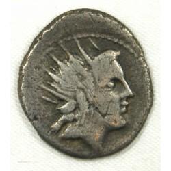 République Romaine - Denier LUCRETIA 76 AC