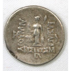 ROYAUME DE CAPPADOCE - ARIARATHES V EUSEBES Philopator Drachme 163-130 ac