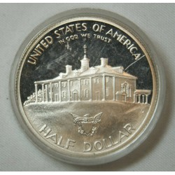 1982 Etats-Unis George Washington Silver Half Dollar