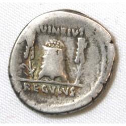 République Romaine - Denier LIVINEIA REGULUS 42 AC