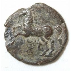 Mauritanie NUMIDIE, MASSINISA unité de Bronze 200-150 av J.C.