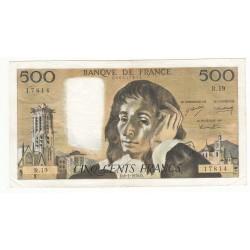 500 Francs Pascal 07/01/82 (500F053)