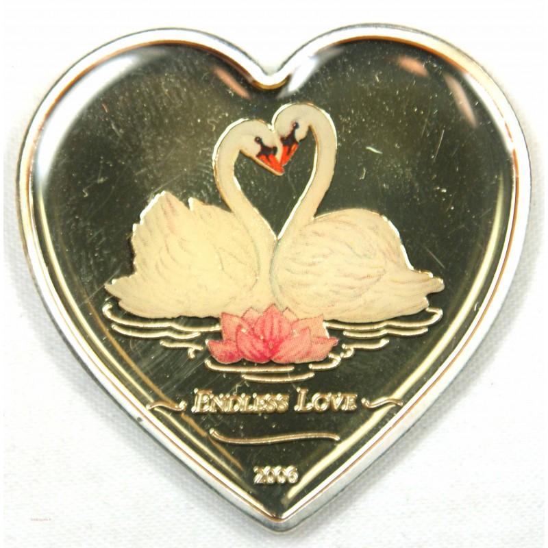 LIBERIA 10 $ 2006 ENDLESS LOVE