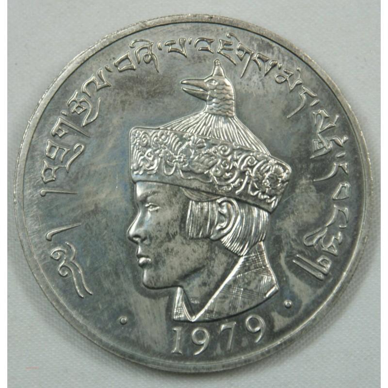 ROYAL GOUVERNEMENT BHUTAN - 3 NGULTRUM - 1979