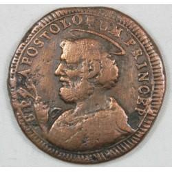 PERGOLA - PIO VI 1775-1799 - 2 1/2 BAIOCCHI 1796