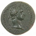 Romaine - As DOMITIEN R/VERTUTI, Ric 409 90-91 AC SUP 10.85grs - 30mm collection R.N
