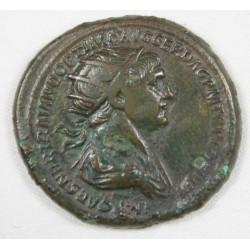 Romaine - Dupondius TRAJAN R/ Senat Ric 674