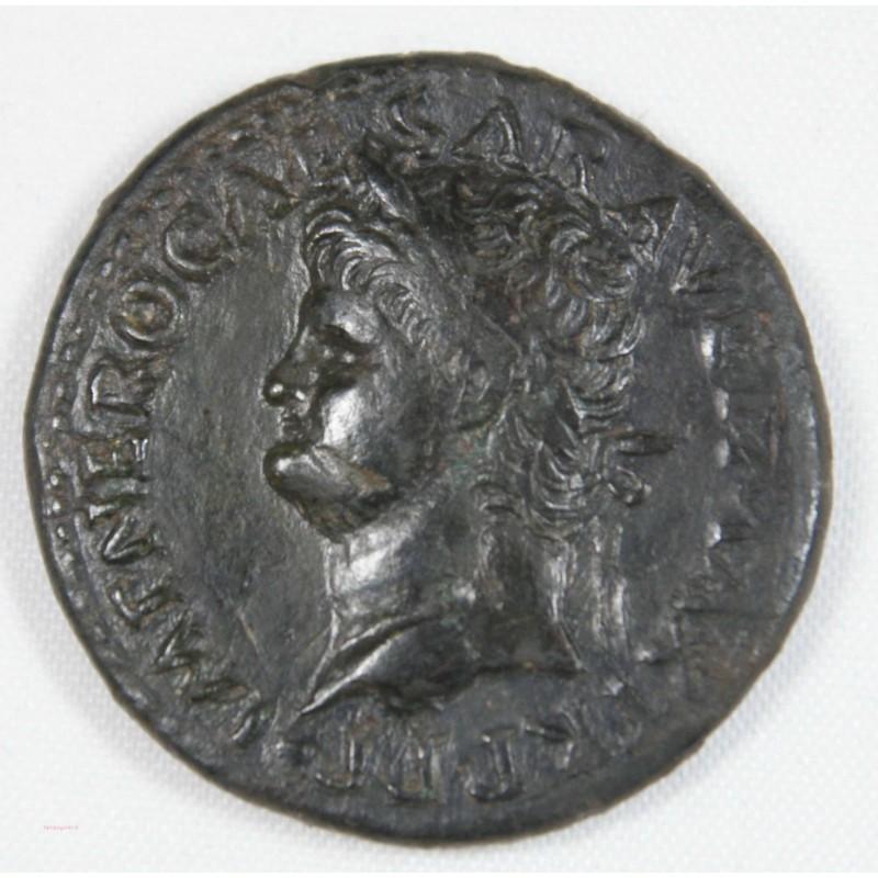Romaine - DUPONDIUS NERON R/ VICTORIA- 65 AC -RIC 523