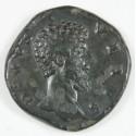 Romaine - Sesterce LUCIUS VERUS R/ Consecratio, Ric 1509