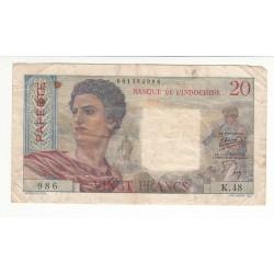 Tahiti 500 Francs 1970 Pick 25a