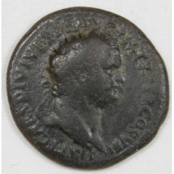 Romaine - Dupondius TITUS R/ Rome assise Ric 183