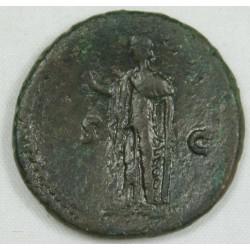 Romaine - As TITUS R/ Espérance, Ric 678, 76 AC