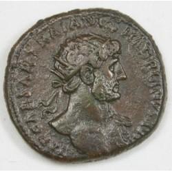 Romaine - Dupondius HADRIEN R/ Adventus Ric 554