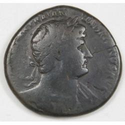 Romaine - Sesterce HADRIEN, 120 AC Ric 612