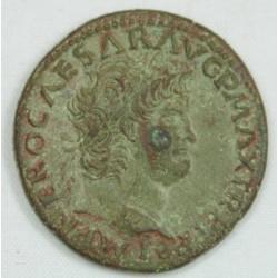 Romaine - DUPONDIUS NERON R/ VICTORIA- 66 AC -RIC 422