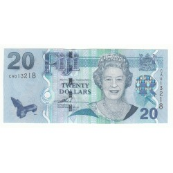 ILES FIDJI 10 DOLLARS 2002 NEUF