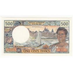 NOUVELLE CALEDONIE 500 Francs 1970 Pick 19a