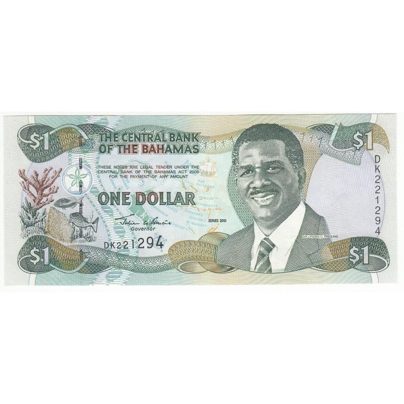 BAHAMAS 1 DOLLAR 1992 NEUF