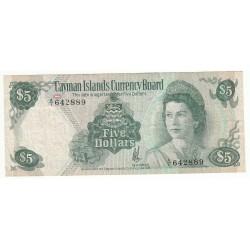 ILES CAIMANS 1 DOLLAR 1974