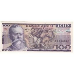 MEXIQUE 100 PESOS 1982 NEUF
