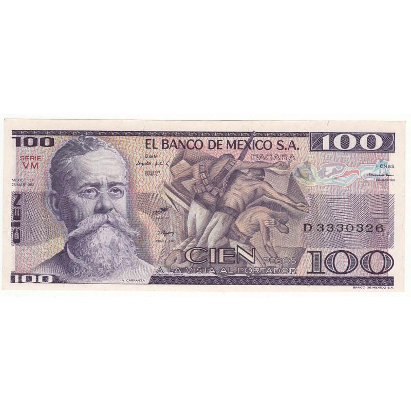 MEXIQUE 100 PESOS