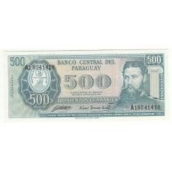 PARAGUAY 500 GUARANIES 1952 NEUF
